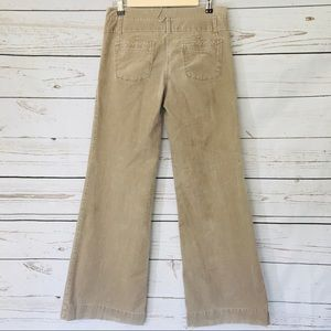 Bica Cheia Anthropologie Wide Leg Corduroy Pants
